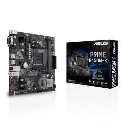 ASUS - PRIME B450M-K Zócalo AM4 micro ATX AMD B450
