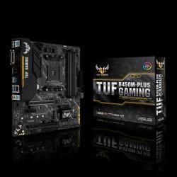 ASUS - TUF B450M-PLUS GAMING placa base Zócalo AM4 Micro ATX AMD B450