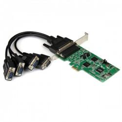 StarTech.com - Tarjeta Adaptadora PCI Express PCIe de 4 Puertos Serie Serial Combo RS232 y RS485 RS 422 DB9