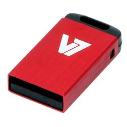 V7 - Unidad de memoria flash USB 2.0 nano 32 GB, roja