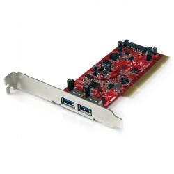 StarTech.com - Tarjeta Adaptador PCI USB 3.0 SuperSpeed de 2 puertos - Hub Concentrador Interno