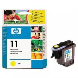 HP - Cabezal de impresión 11 amarillo