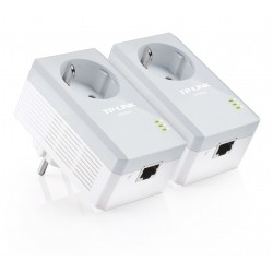 TP-LINK - TL-PA4010PKIT adaptador de red powerline 600 Mbit/s Ethernet Blanco 2 pieza(s)