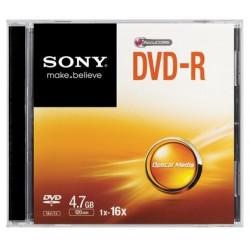 Sony - 16x DVD-R 4.7GB 4.7GB DVD-R 1pieza(s)