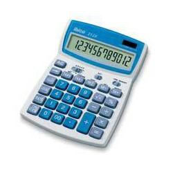 Ibico - 212X calculadora Escritorio Calculadora básica Azul, Blanco