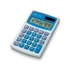 Ibico - 082X calculadora Bolsillo Calculadora básica Azul, Blanco