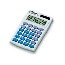Ibico - 081X Bolsillo Calculadora básica Azul, Blanco calculadora