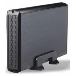 """TooQ - CAJA HDD 3,5"""" SATA A USB 2.0 NEGRA"""