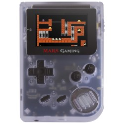 "Mars Gaming - MRB videoconsola portátil Transparente, Blanco 5,08 cm (2"") Wifi"