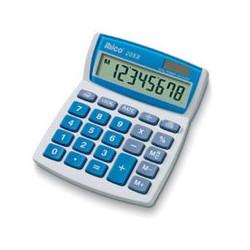 Ibico - 208X Escritorio Calculadora básica Azul, Blanco calculadora