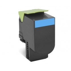 Lexmark - 702HC Laser cartridge 3000páginas Cian
