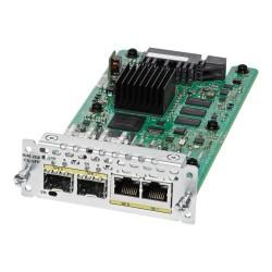 Cisco - NIM-2GE-CU-SFP módulo conmutador de red Gigabit Ethernet