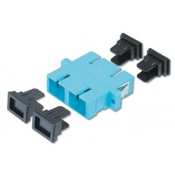Digitus - DN-96005-1 SC/SC 30pieza(s) Turquesa adaptador de fibra óptica