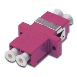 Digitus - DN-96019-1 LC/LC Rosa adaptador de fibra óptica