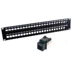 MCL - PB-UNI5E/48N panel de parcheo 2U