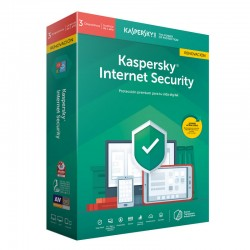 Kaspersky Lab - Internet Security 2019 Full license 3 licencia(s) 1 año(s) Español - 22269111