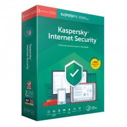 Kaspersky Lab - Internet Security 2019 Full license 3 licencia(s) 1 año(s) Español - 22269106