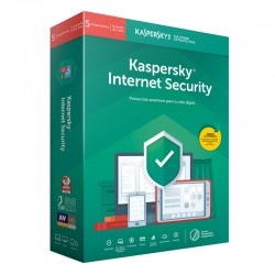 Kaspersky Lab - Internet Security 2019 Full license 5 licencia(s) 1 año(s) Español
