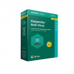 Kaspersky Lab - KL1171S5CFR-9 seguridad y antivirus Full license 3 licencia(s) 1 año(s) Español