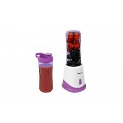 MEDION - MD 18044 Batidora de vaso 0.5L 175W Púrpura, Blanco licuadora