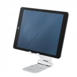 StarTech.com - Base para Móvil y Tablet - Aluminio - Plegable - Soporte Ajustable para Tablet - Soporte Multidispos