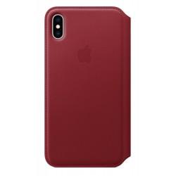 """Apple - MRX32ZM/A funda para teléfono móvil 16,5 cm (6.5"""") Folio Rojo"""