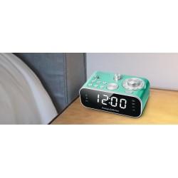 Muse - M-18 CRG despertador Digital alarm clock Verde