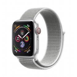 Apple - Watch Series 4 OLED Móvil Plata GPS (satélite) reloj inteligente - 22275386