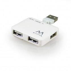 Ewent - EW1125 480Mbit/s Blanco nodo concentrador