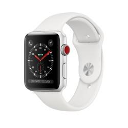 Apple - Watch Series 3 reloj inteligente Plata OLED Móvil GPS (satélite)