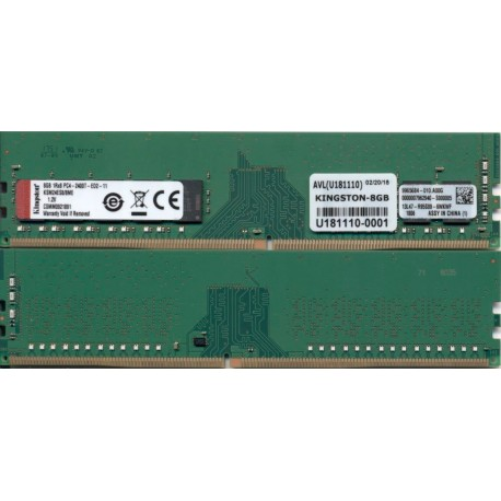Kingston Technology Ksm24es8 8me Módulo De Memoria 8 Gb Ddr4 2400 Mhz Ecc