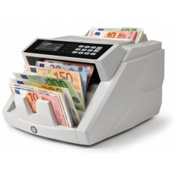 Safescan - 2465-S Contador de billetes Negro, Blanco
