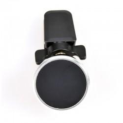 CoolBox - CoolFix Coche Negro, Plata Soporte pasivo