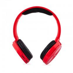 CoolBox - CoolMetal Supraaural Diadema Rojo