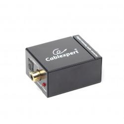 Gembird - DSC-OPT-RCA-001 convertidor de audio Negro