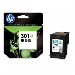 HP - Cartucho de tinta original 301XL de alta capacidad negro