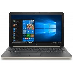 """HP - 15-da0073ns Oro, Plata Portátil 39,6 cm (15.6"""") 1366 x 768 Pixeles 8ª generación de procesadores Intel® Core™"""