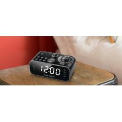 Muse - M-18 CRB despertador Digital alarm clock Negro