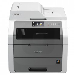 Brother - DCP-9020CDW 2400 x 600DPI LED A4 18ppm Wifi Negro, Color blanco multifuncional