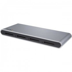 StarTech.com - Lector Grabador USB-C de Tarjetas de Memoria Flash SD con 4 Ranuras - USB Tipo C - USB 3.1 - SD 4.0 - UHS-II