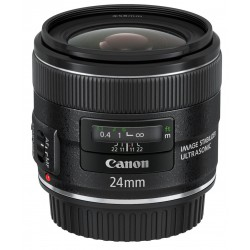Canon - EF 24mm f/2.8 IS USM MILC Objetivo ancho