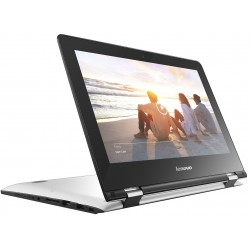 "Lenovo - Yoga 300 1.6GHz N3060 Intel® Celeron® 11.6"" 1366 x 768Pixeles Pantalla táctil Plata Híbrido (2-en-1)"
