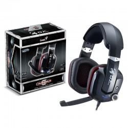 Genius - HS-G700V Binaural Diadema Negro auricular con micrófono