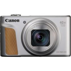 "Canon - PowerShot SX740 HS Cámara compacta 20,3 MP 1/2.3"" CMOS 5184 x 3888 Pixeles Plata"