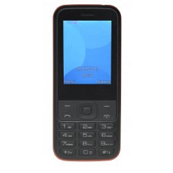 """Denver Electronics - FAS-24100M 6,2 cm (2.44"""") 240 g Negro, Rojo Característica del teléfono"""
