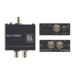 Kramer Electronics - PT-102VN amplificador de línea de video 430 MHz Negro