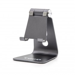TooQ - Soporte de sobremesa ajustable para teléfono / tablet