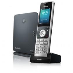 Yealink - W60P teléfono IP Negro, Plata Terminal inalámbrico TFT