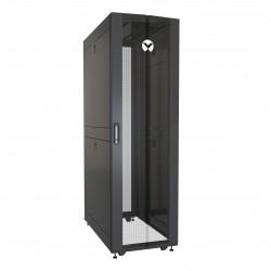 Vertiv - VR Rack VR3100 armario rack 42U Rack o bastidor independiente Negro, Transparente