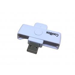 CoolBox - COO-CRU-SC01 lector de control de acceso Lector USB de control de acceso Azul